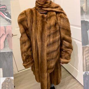 Jackets & Blazers - Russian Kalinski Mink Swing Coat